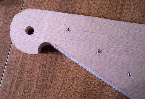 Zither pins drilled in kantele